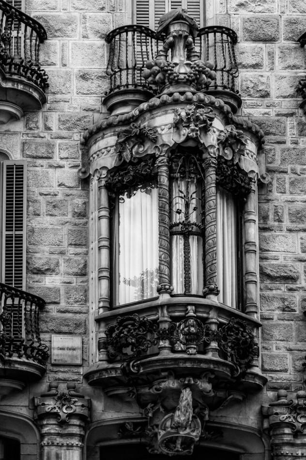 Casa Calvet Barcelona Detail