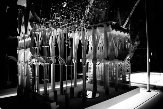 Modell Tragwerk Sagrada Familia
