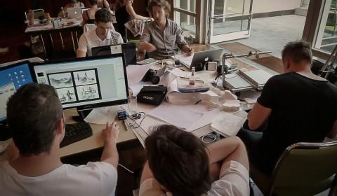 Wettbewerb Dachwelten Inselhalle Entwurf