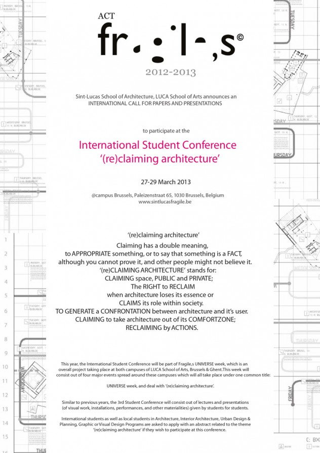 Dokument Fragiles International Student Conference
