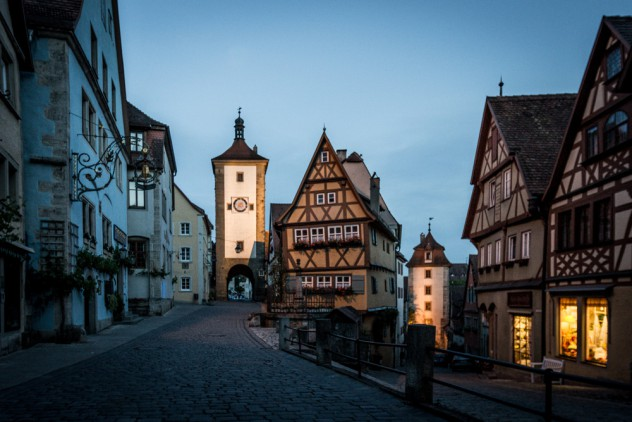 Rothenburg Kobolzeller Tor