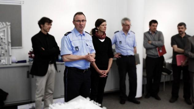 Polizeipräsident Günther Freisleben und Frau Prof Dagmar Eisermann