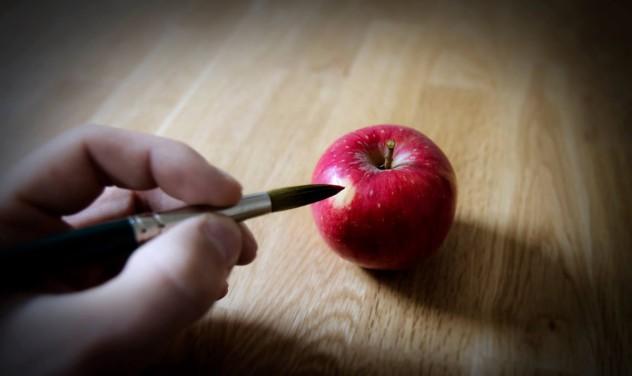 Apfel Stillleben