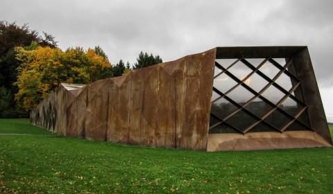 Gedenkstaette SS Sonderlager KZ Hinzert Gesamtansicht