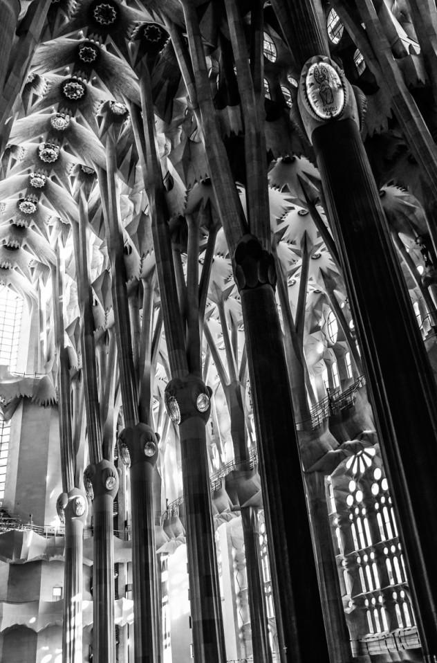 Tragwerk Sagrada Familia