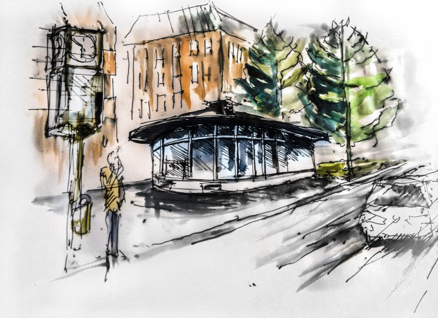 Cafe Pavillon Friedrich Ebert Ring