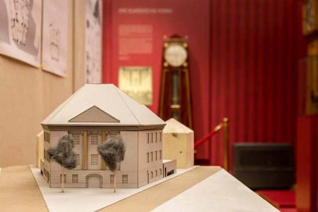 Modellfoto Roentgenmuseum Detail