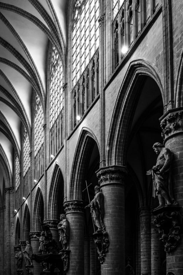 Cathedrale Saints Michel et Gudule Brussels