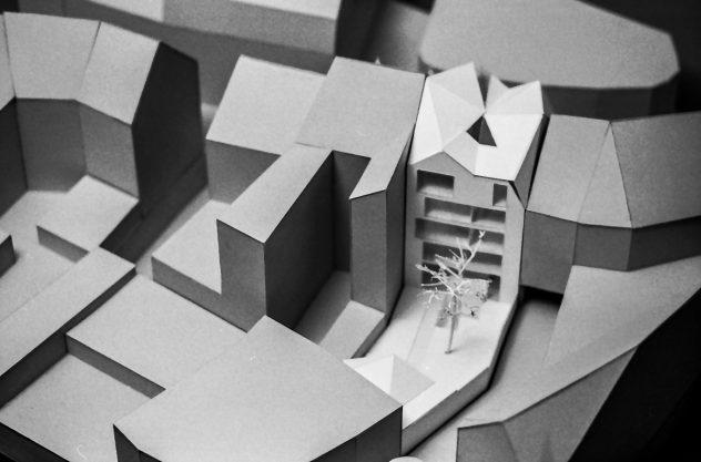 Architekturmodell Entenpfuhl